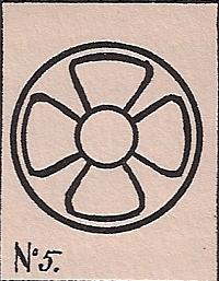 Niven's tablet #0005 Symbol of the Sacred Four